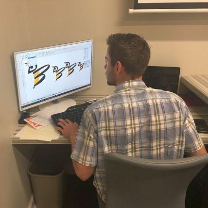 Digital Logo Design in Montgomery, AL - preparing logo for print