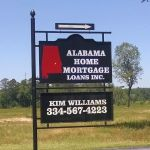 Pro Coat Fabrication - turn at sign for Alabama Home Mortgage Loans